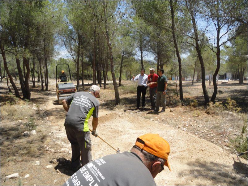 La Nucia Ecoparque Ocio obras 2014